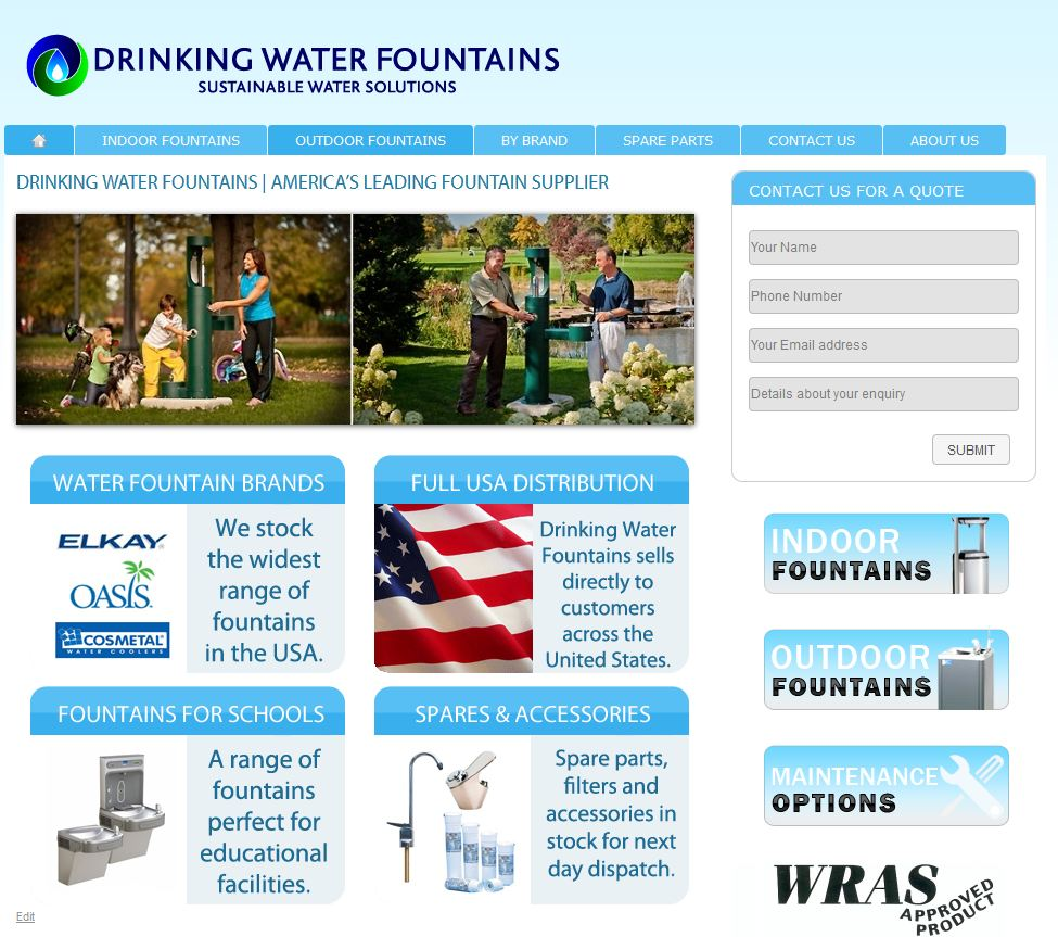 Water Fountains USA