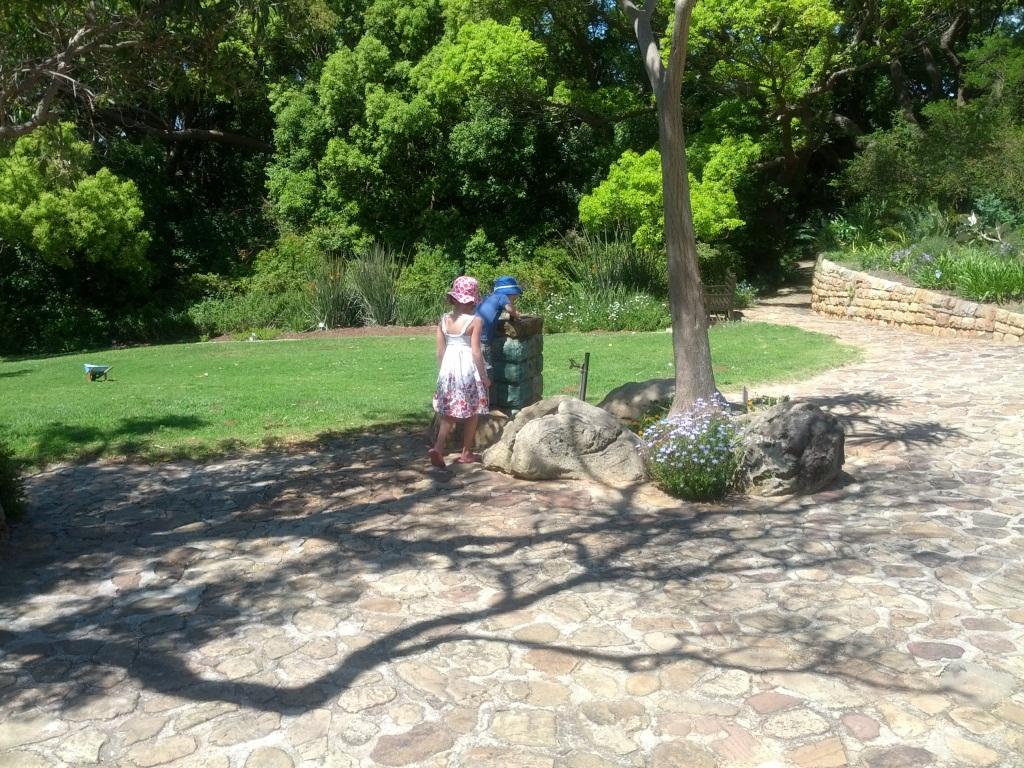 Kirstenbosch Gardens Fountains