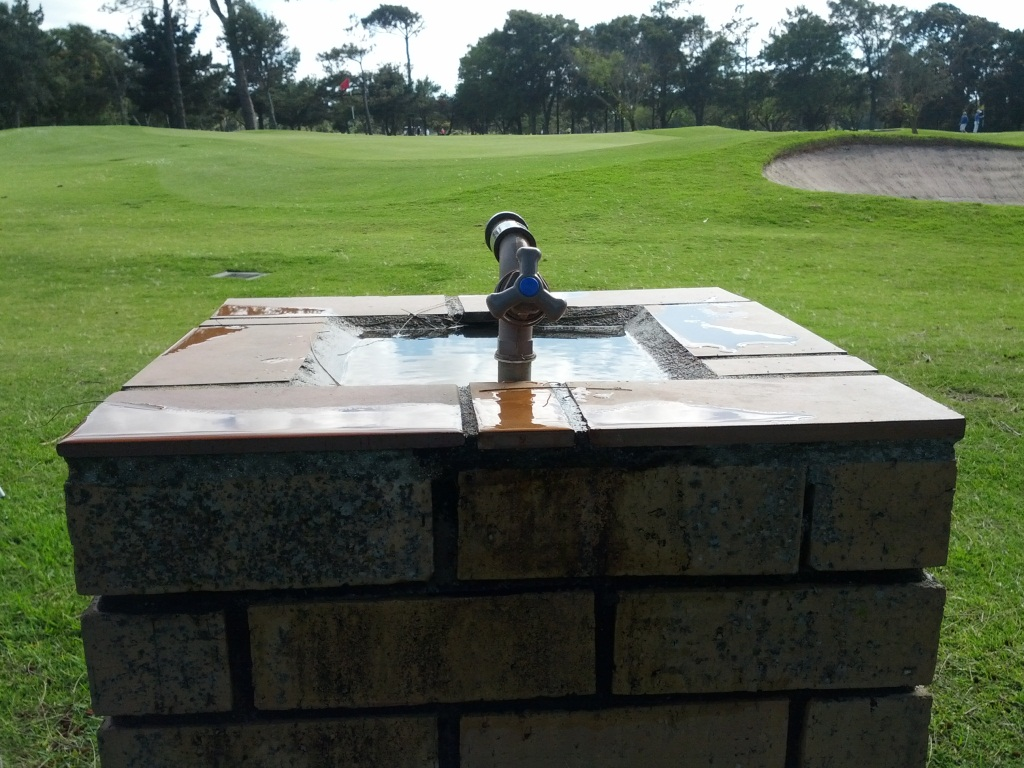 Concrete fountains spotted at Royal Cape - Drinking Water ...