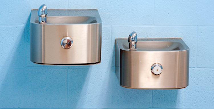 Wall Mounted Indoor Drinking Fountains