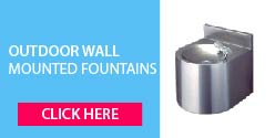 Outdoor Wall Mounted Drinking Fountains